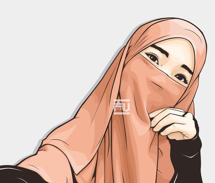 #Hijab #Vector #niqab @ahmadfu22