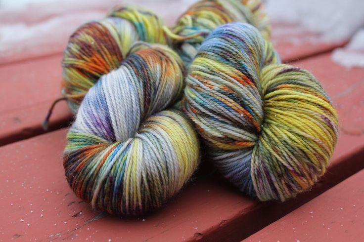 Sunny Days Hand Dyed Yarn Wool Sock Knitting Yarn Speckled Yarn Fingering Weight Merino Gift For Knitters Yellow Sock Yarn by FireFlyFibreArts on Etsy https://www.etsy.com/listing/264281222/sunny-days-hand-dyed-yarn-wool-sock