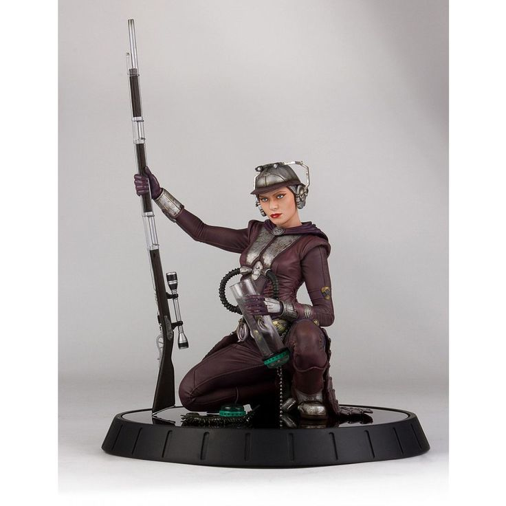 Image of Gentle Giant Star Wars Zam Wessel 1:6 Scale Deluxe Statue