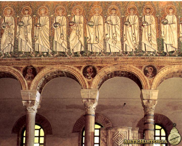 Cortejo De Martires De La Nave Central Iglesia De San Apolinar