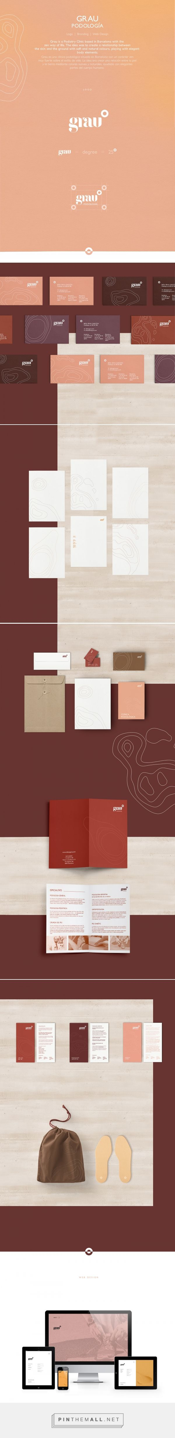 Grau Podiatry Clinic Branding by Rhombus Design   Fivestar Branding Agency – Design and Branding Agency & Curated Inspiration Gallery