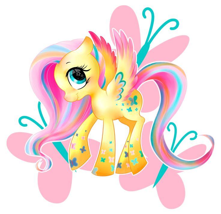 Flutter Rainbow Power by allocen.deviantart.com on @deviantART