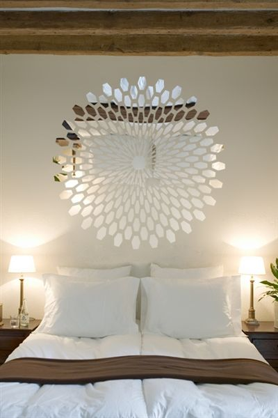 Wall Decals  Reflective 3D Mirror, Optical Illusion, Wave, Mirror, Bolt, Dimension-WALLTAT.com Art Without Boundaries