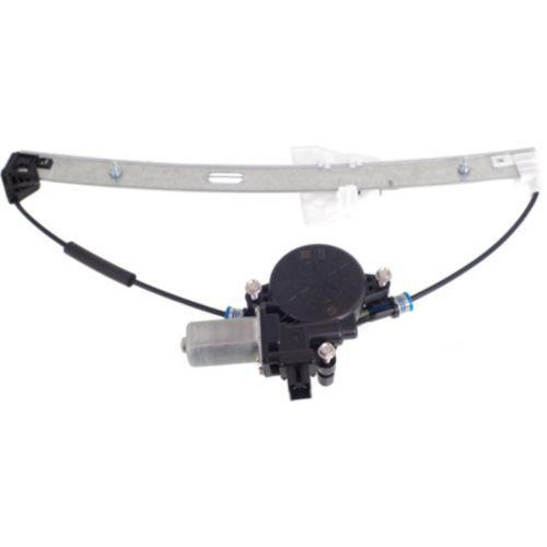 2011-2014 Mazda 2 Rear Window Regulator RH, Power, With Motor