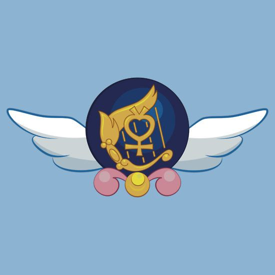 Sailor Mercury Crest by eveningshadow