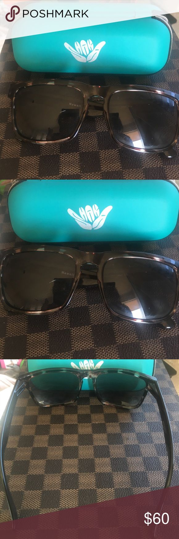 Shaka׳s Hawaii popular sunglasses 🕶 Hawaii Popular sunglasses 😎.           Shaka׳s  sunglasses are Durable and flexible- Made from a military grade plastic called TR90 Which makes it the strongest sunglasses in the world. Accessories Sunglasses