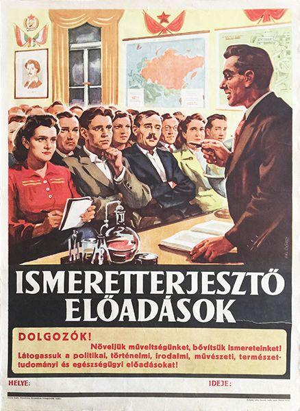 Pál György, Ismeretterjesztő előadások, 1951