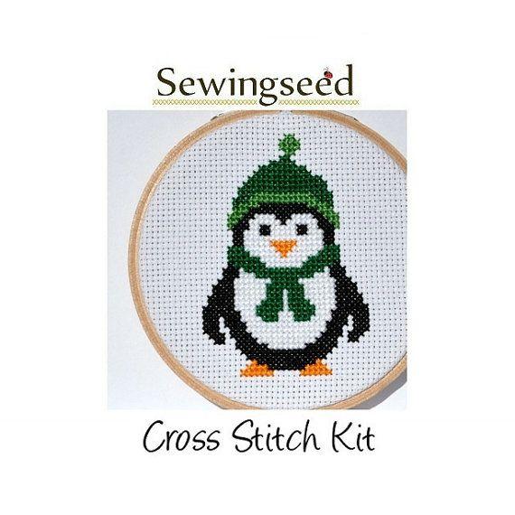 Best images about cross stitch penguins on pinterest