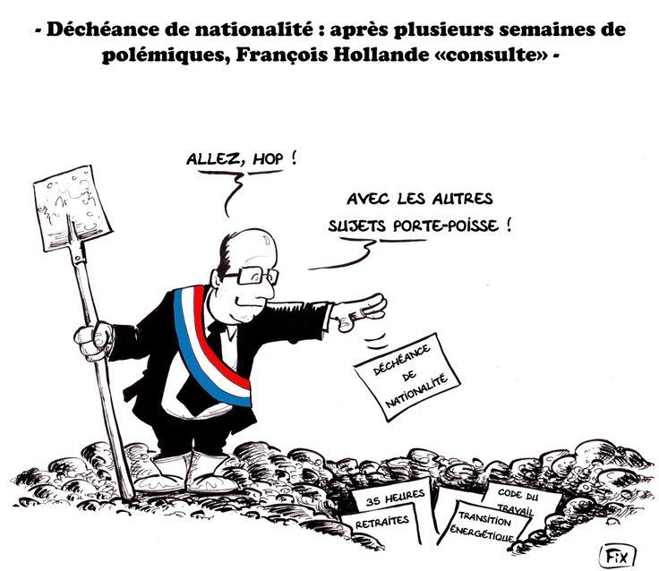 François Hollande et la déchéance de nationalité