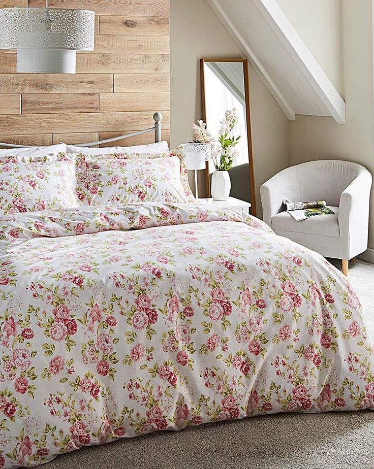 Jd Williams Grace Pink Duvet Cover Set In 2021 Pink Duvet Cover Home Quilt Cover Sets