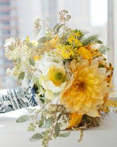 Yellow Wedding Bouquets