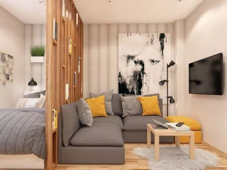 31 Awesome Studio Apartment Ideas For Your Inspiration - Most people that get studio apartments are doing so because they are running low on money or they simply want to live simply. The space in a studio ap...
