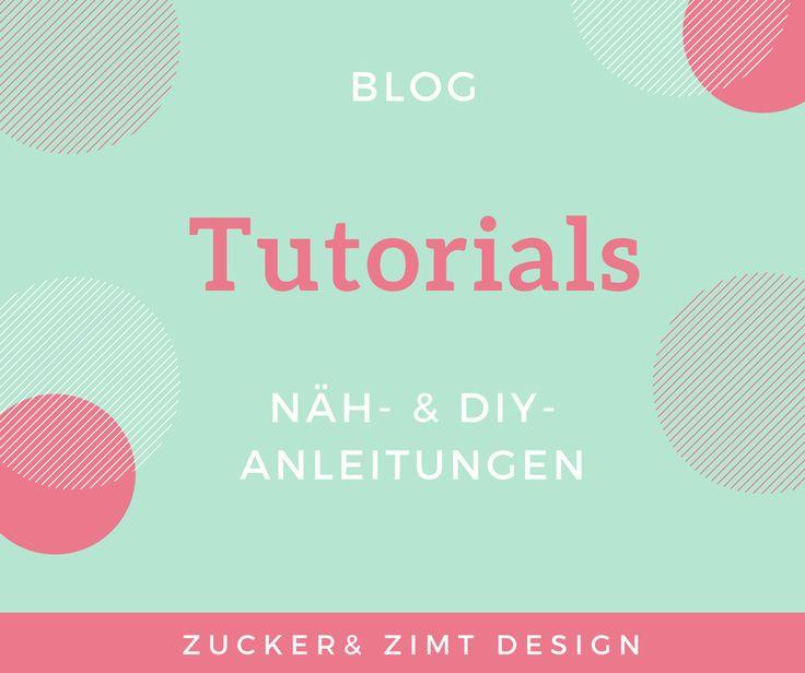 Kostenlose Nähanleitungen und DIY Anleitungen von Zucker&Zimt Design