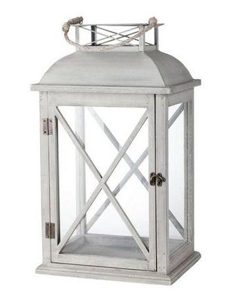 Tall Wooden Cross Lantern - £98.00 - Hicks and Hicks
