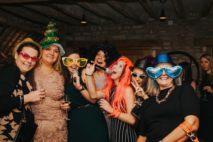 Everyone loves photobooth props! Photo by Benjamin Stuart Photography #weddingphotography #photofun #photobooth #props #weddingfun #party #weddingguests