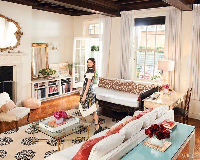 ミランダ・カーのハッピーなインテリア精神とスタイル♡ の画像|Modern Glamour モダン・グラマー NYスタイル。・・BEAUTY CLOSET <美とクローゼットの法則>