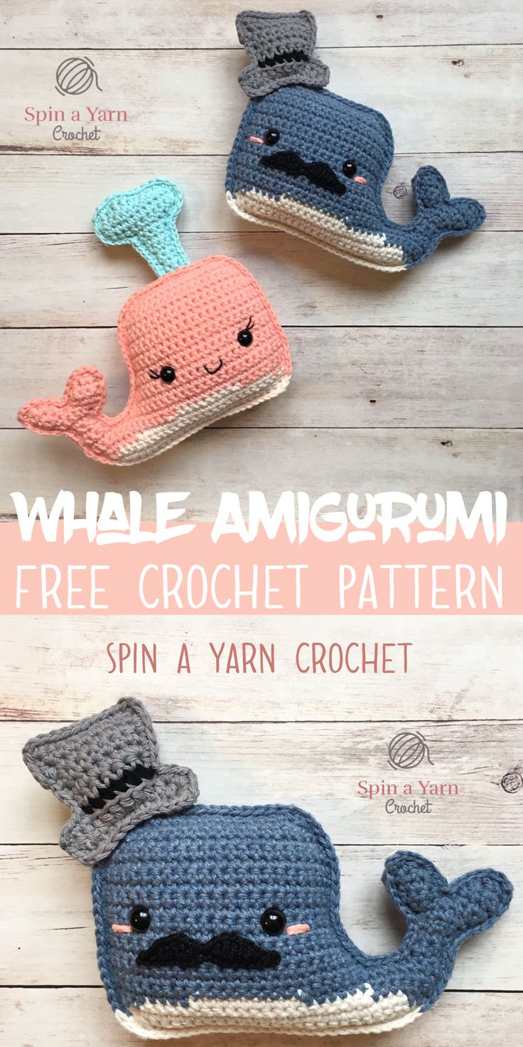 Whale Amigurumi- Spin a Yarn Crochet