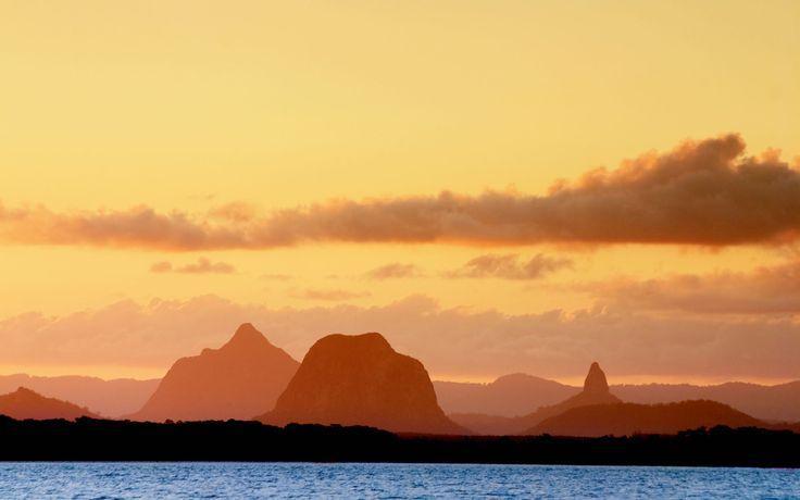 Glasshouse Mountains, Caloundra, Australia -- Captivating!
