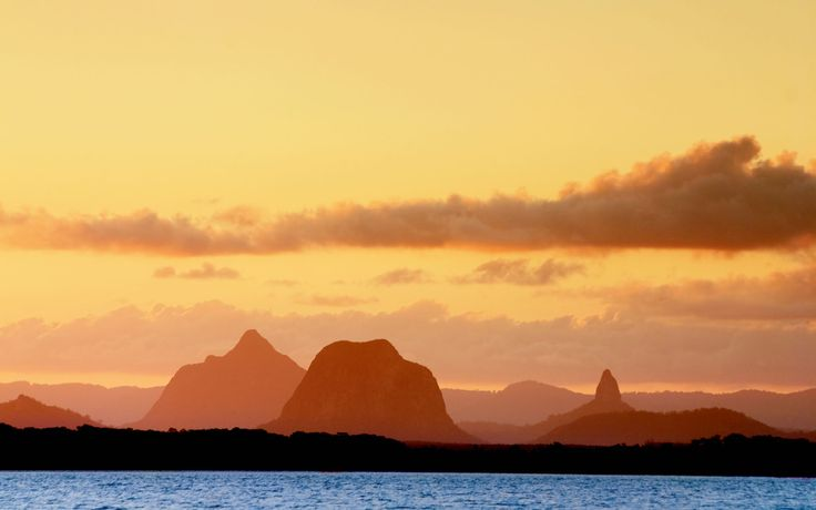 Glasshouse Mountains, Caloundra, Australia -- Captivating!