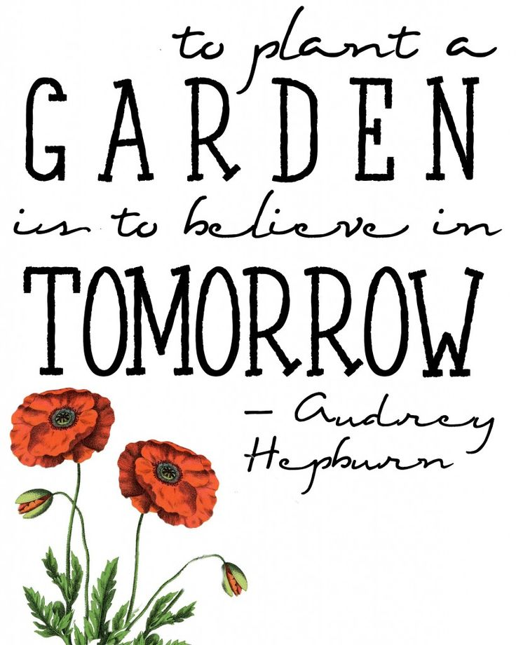 FREE Think Spring Printable Audrey Hepburn spring quote | Free Printable | Lily Pad Cottage