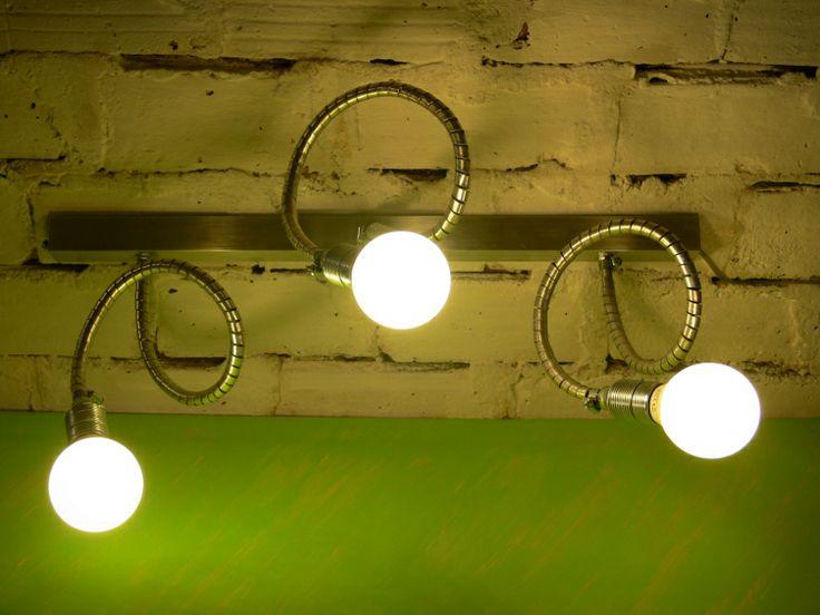 ALUMINIOWA LAMPA[XLVIII] - ALUMINIIUM CEILING LAMP - METAL - LOFT