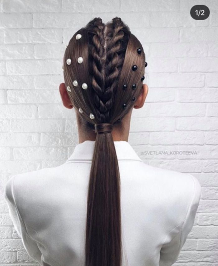 Accessorized Low Pony Hairstyle Ideas For A Glam Look Page 7 Of 9 Viva Glam Magazine In 2020 Low Pony Hairstyles Pony Hairstyles Hair Styles