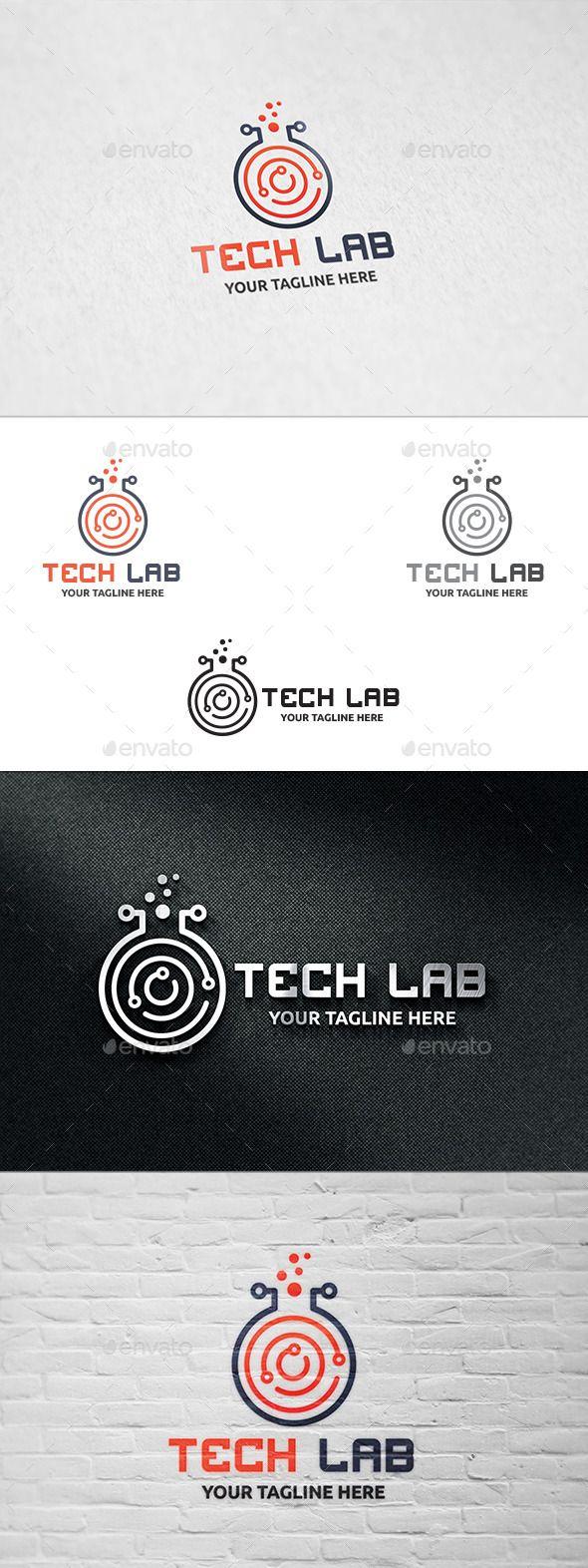 Tech Lab - Logo Template
