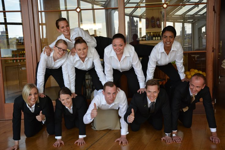 Glashaus Restaurant team