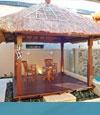 Bali inspired gazebo