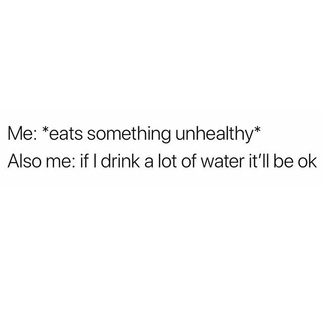 Can You Get Abs From Laughing A Lot One Water With Lemon Will Have Me Checking For Abs Funny Relatable Memes Funny Quotes Memes Quotes