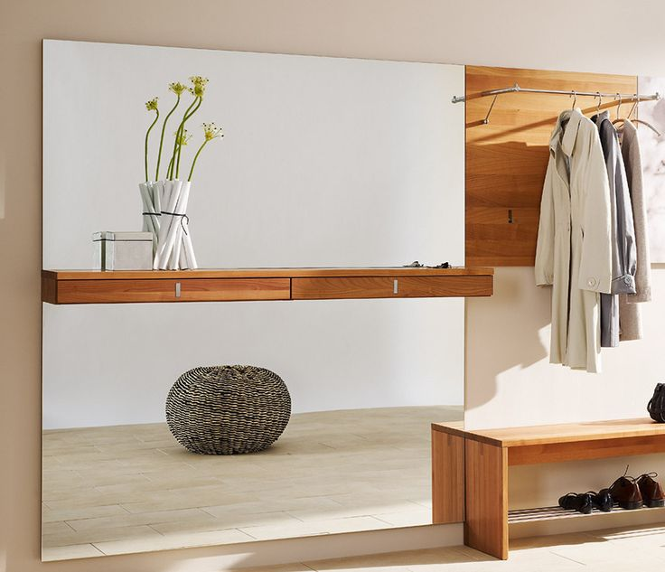 11 curated modern coat rack wall mounted ideas by for Hallway furniture ideas