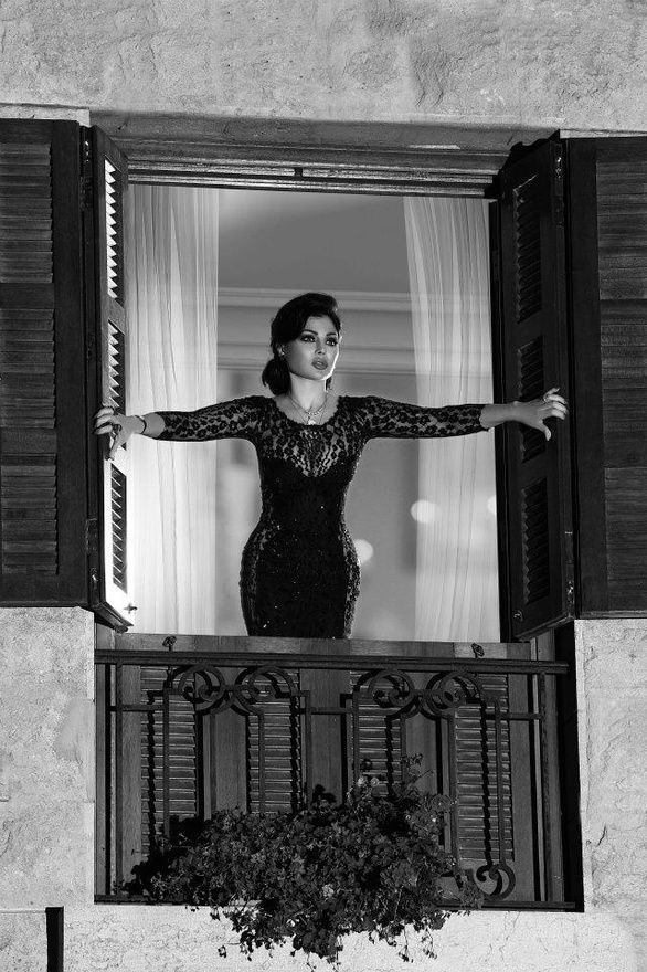 Haifa Wehbe'a dress <3