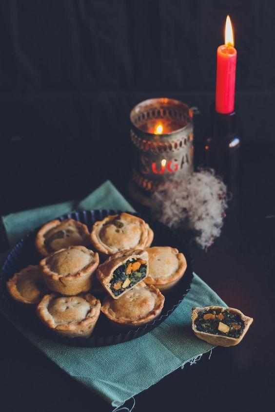 {Cuisine} Mini tourtes aux épinards et patate douce - {Cooking} Spinach and sweet potato handpies: