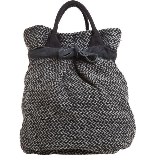 Maria La Rosa Blanket Backpack ($279) found on Polyvore
