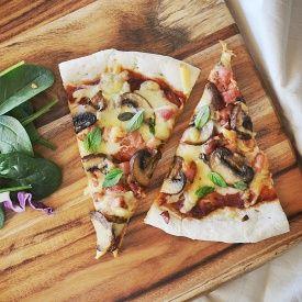 shiitake walnut shiitake amp puree pizza walnut puree pizza mushrooms ...