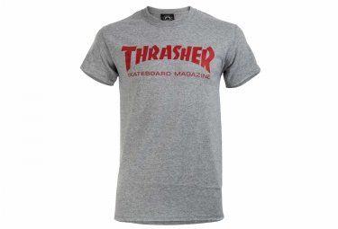 T-Shirt Thrasher Skate Mag Gris