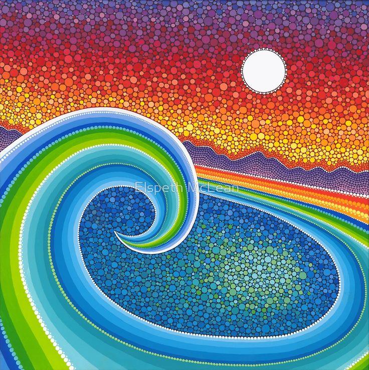 «Great Wave» de Elspeth McLean
