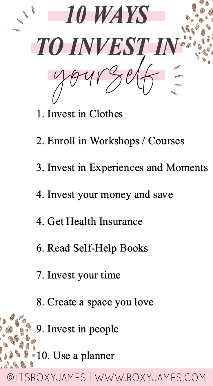10 Practical Ways To Invest In Yourself By Roxy James Roxy James Investing Self Help Books Self Help [ 1332 x 735 Pixel ]