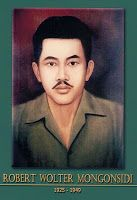 Robert Walter Monginsidi was one of the formers of the Indonesian people's resistance army.