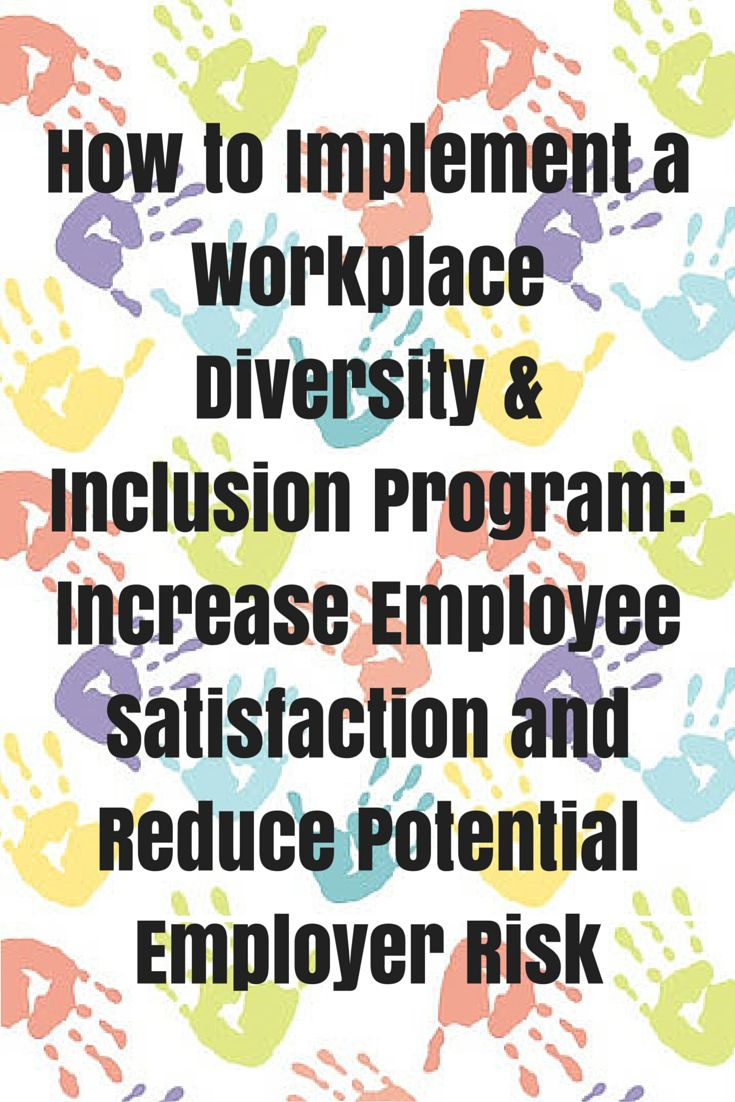 workplace diversity and implementations Home » resource centre » hr toolkit » diversity at work » elements of a diverse workforce diversity at work elements of a diverse workforce in canada, diversity extends beyond race or.