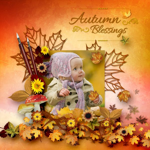 * Autumn Blessings * by Dafinia Designs  http://digital-crea.fr/shop/index.php… http://www.pixelsandartdesign.com/store/index.php…
