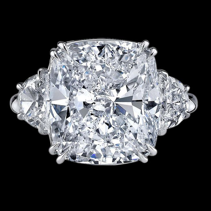 Rings | Cushion Cut Diamond Ring | Bigham Jewelers, Naples Florida Jewelers