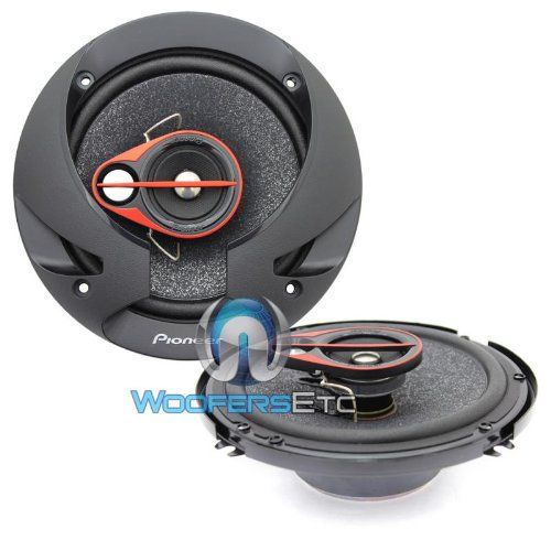 Pioneer TS-R1650S 6.5-Inch 80W RMS 3-Way Coaxial Speakers, Set of 2 with FREE Shipping    #carscampus #sale #shop #cars #car #campus