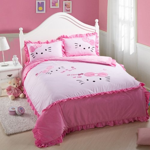 pink hello kitty bedroom 224 best hello kitty bedding images on 16748