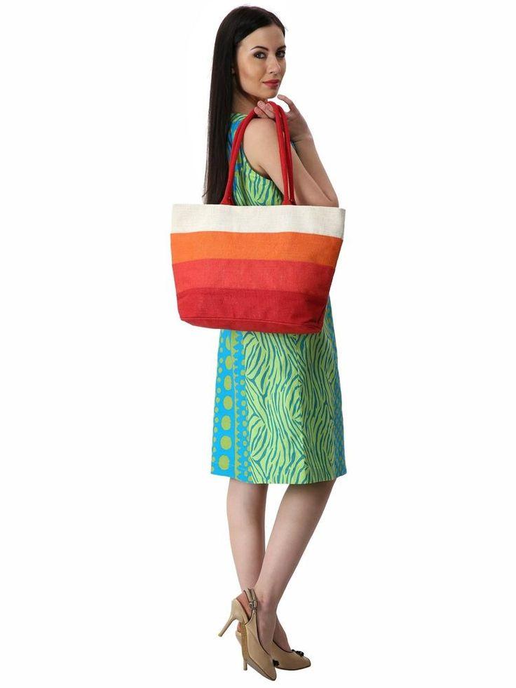 Rustic Town Handmade Women's Jute Cute Burlap Beach Bags Tote Shopping Bag New | Clothing, Shoes & Accessories, Women's Handbags & Bags, Travel & Shopping Bags | eBay!
