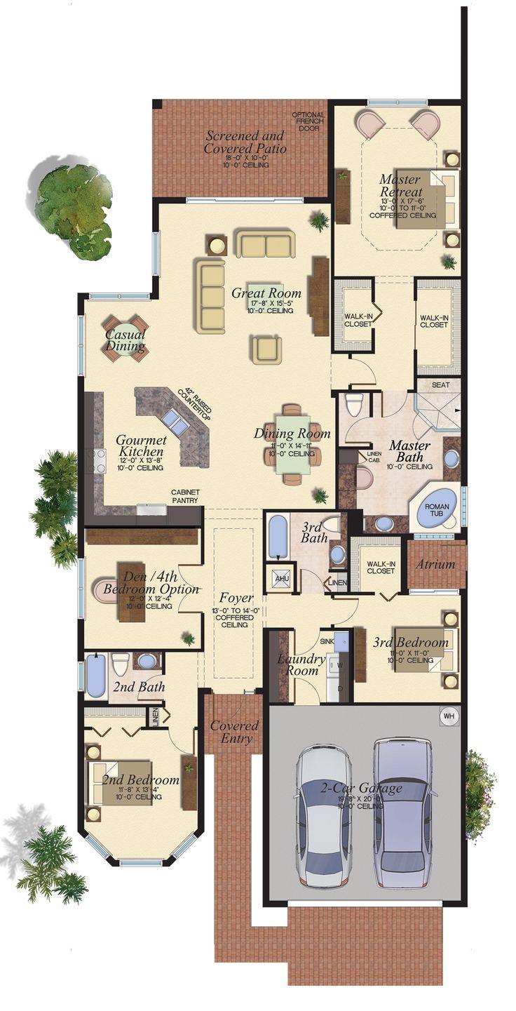 2648 best casas images on pinterest house floor plans floor