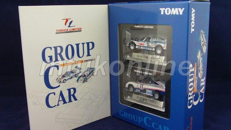 TOMICA TL | GROUP C CAR 2 MODELS | NISSAN SKYLINE TURBO C | COMPLETE