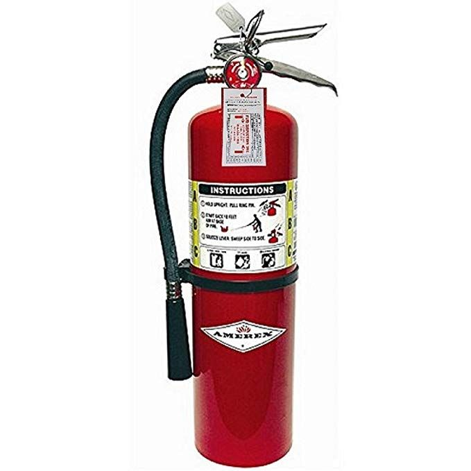Amerex B456 Abc Dry Chemical Fire Extinguisher With Aluminum Valve 10 Lb By Amerex Corporation Review Fire Extinguisher Extinguisher Fire