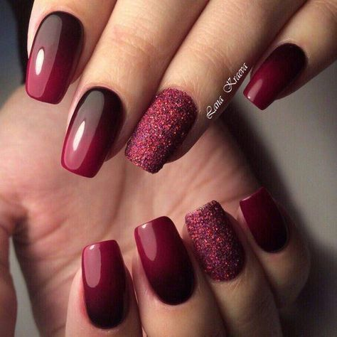 Nails Simple Sparkle Manicures 69 – Fingernägel