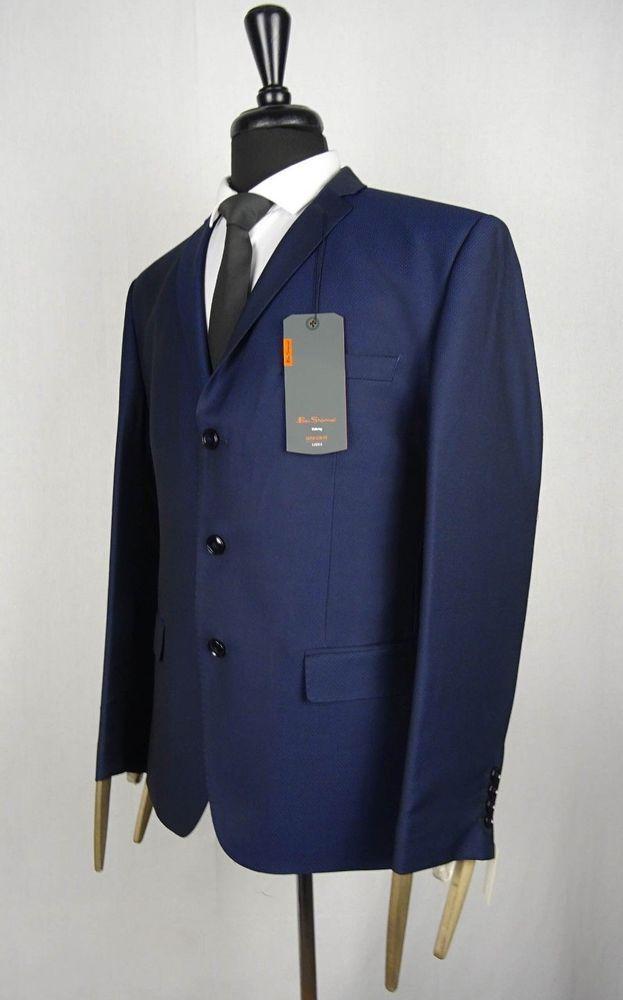 Blazer and Pant Ben Sherman Mens Standard Modern Fit Suit Separate